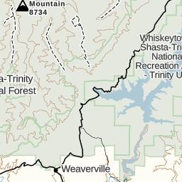 Trinity Alps- Bear Basin to Four Lakes Loop to Granite Creek | Gaia GPS