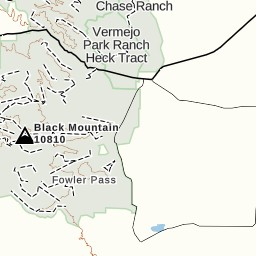 Philmont New Mexico Map.Philmont Day 1 Dropoff To Vaca 8 4 15 Gaia Gps