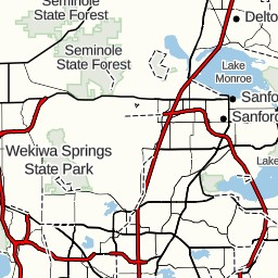 Miami Springs Florida Map.Wekiva Marina To 1014 Miami Springs Dr Wekiwa Springs Fl Usa