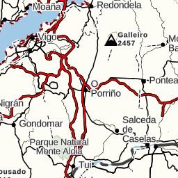 239c Av Ricardo Mella To Circuito Do Monte De Fragoselo Vigo Spain